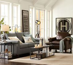 "LOVE THE ""H"" Cameron Upholstered Roll Arm Sofa 