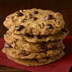 Ghirardelli Crispy Crunchy Chocolate Chip Cookies Allrecipes.com best chocolate chip cookies I have ever made!!!
