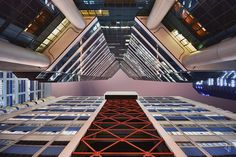 Hong Kong's Dizzying Vertical Density by Romain Jacquet-Lagreze