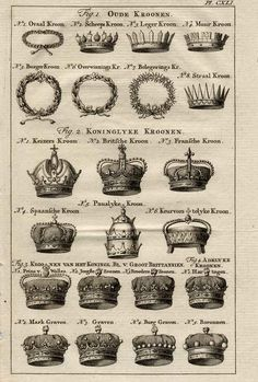 vintage crowns