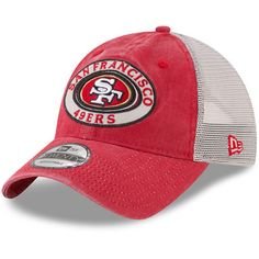 new product 5621b cab3d Preschool San Francisco 49ers New Era Scarlet Patched Pride 9TWENTY Adjustable  Hat Vivid Colors, Nfl