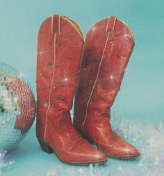 Style Cowgirl, Midnight Cowboy, Cowgirl Costume, Kicker, Space Cowboys, Piercings, Red Boots, Retro Aesthetic, Funny Art