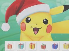 Merry Christmas!  #pokemon #pikachu #pokemongo #anime #pikachu #pokemon #pokemongo #pikachulover #pokemontrainer #pkmn #pokeball #pokemonsunandmoon #kawaii #pokemony