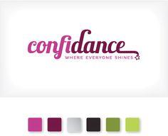 Confi-dance identity | Curious & Co. Creative