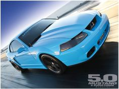 2003 Ford Mustang Cobra - Power Grab: The one that started it all, this '03 Cobra has a blue lease on life.