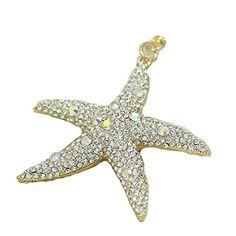 Qualité supérieure Diamant étoile de mer Clé chaîne porte…