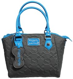 Loungefly Hello Kitty Blue Splash Embossed Bag