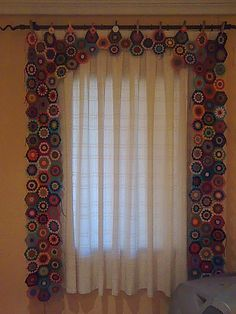 Hippie curtains.....<3