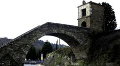 Portomarín, puente a la llegada desde Sarria