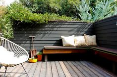 gorgeous enclosed deck (love the whole house!)