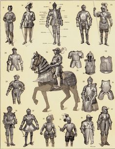 Armor from the ages.