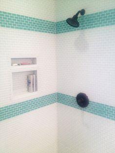 Sage Green 1x2 Mini Glass Subway Tile - Subway Tile Outlet