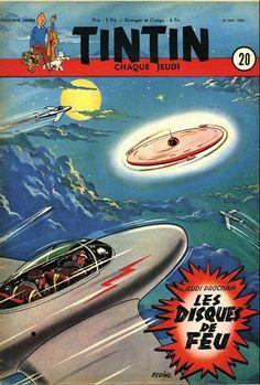A cosmic christmas by hank davis httpamazondp tintin may 1950 weekly franco belgian comics magazine fandeluxe Choice Image