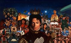 all mj's albums in one picture - michael-the-album Photo