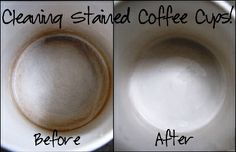 How To Clean Coffee Stained Cups