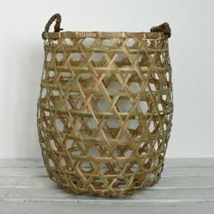 Bamboo basket - House of C