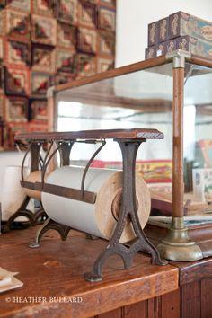 antique paper cutter