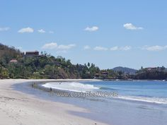 Flamingo Beach in Guanacaste, Costa Rica