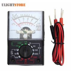 MF-110A Electric Analog Multimeter Multitester Portable Voltmeter Ammeter AC / DC Voltage Current OHM Multi Meter Tester #Affiliate