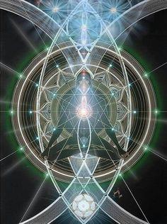 La Conciencia pura es una Luz Ilimitada que se extiende en todas las direcciones.