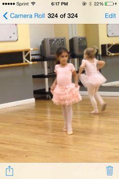 aprendiendo Ballet mi Muñeca.