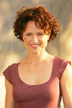 March 9 Happy birthday to Jean Louisa Kelly Grey Hair Updos, Grey Curly Hair, Short Wavy Hair, Curly Hair Tips, Curly Hair Styles, Short Curly Cuts, Cute Short Curly Hairstyles, Celebrity Pixie Cut, Transition To Gray Hair
