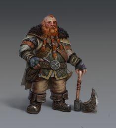 ArtStation - Dwarf, james child