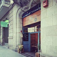 - Organic market, Barcelona -
