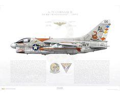 Air Fighter, Fighter Jets, Illustration Avion, Uss America, Uss Nimitz, Us Military Aircraft, American Air, Military Equipment, Aviation Art