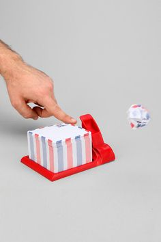Air Mail Sticky Note Holder