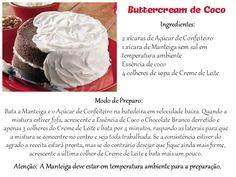 Buttercream de Coco #SenhoraInspiracao
