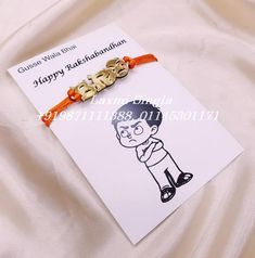 Designer Rakhi Card in Tagged Figures. wholesale - Minimum 25 pcs each or 200 mix designs. Rakhi Bracelet, Rakhi Cards, Rakhi Festival, Handmade Envelopes, Boyfriend Gifts, Packing, Design, Bag Packaging, Boyfriend Presents
