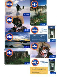 16 Phonecard / Tarjeta Telef Venezuela un1ca  Paisajes de Venezuela y Vs