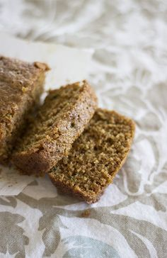Healthy Zucchini Bread from @Natural Sweet Recipes