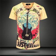 Men Lovely Cartoon Print Personality 3D T Shirt Cool Men Funny Strange Casual Tee Shirt Summer New Arrival plus size M-XXXL