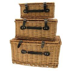 Set of 3 Hamper Baskets - APBK2397