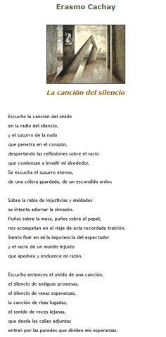 Poesia Silencio Impotencia Mundo Injusto Cancion