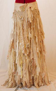 Gypsy Ragged and Tattered Esmeralda is a Custom Order Skirt