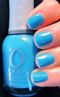 Orly Blue Collar #Orly SmartGels #Looksy