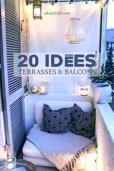 Balcony Decor for Small Spaces . 41 Awesome Balcony Decor for Small Spaces . Small Balcony Design, Tiny Balcony, Modern Balcony, Small Balconies, Outdoor Balcony, Small Terrace, Outdoor Chairs, Condo Balcony, Interior Design Ideas For Small Spaces