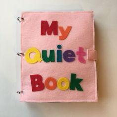 Customized Quiet Book Felt Books Quiet Book Page