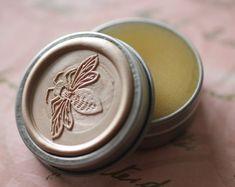 Lyra Natural Solid Perfume Bee Tin  Jasmine by IlluminatedPerfume, $52.20 * jojoba seed oil, essential oils, absolutes and c02 extracts, plant infusions, amber accord, orange, jasmine, ylang ylang, beeswax, aromatherapy, citrus, vanilla