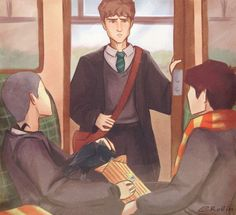 Raven Boys / Harry Potter Crossover
