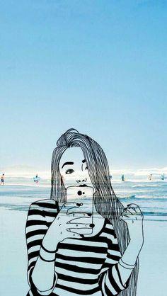 22 ideas for wallpaper desenho azul Drawing Wallpaper, Emoji Wallpaper, Wallpaper Iphone Cute, Aesthetic Iphone Wallpaper, Galaxy Wallpaper, Lock Screen Wallpaper, Cute Wallpaper Backgrounds, Tumblr Wallpaper, Pretty Wallpapers
