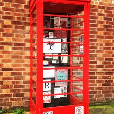 Something from Nottingham. 'Phone Box' installation, The Lace Market.