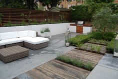 South West London Garden Design and Landscaping - thumbnail Small City Garden, Home And Garden, Modern Garden Design, Landscape Design, Desert Landscape, Residential Landscaping, Outdoor Dining, Outdoor Decor, Design Jardin