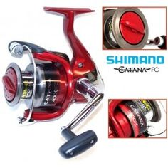 SHIMANO CATANA 2500 FC+FIR GRATIS Fishing Tackle Shop, Spinning Reels, Two By Two, It Cast, Products