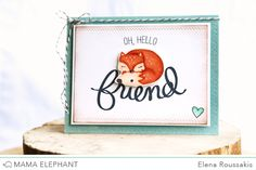 mama elephant   design blog: STAMP HIGHLIGHT : FRIEND INDEED