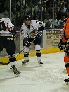 ˚Wes Goldie - Captain of the Victoria Salmon Kings