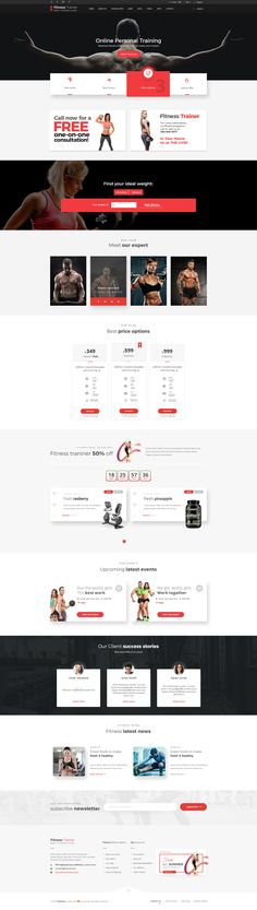 Fitness Trainer-PSD Template Fitness Trainer Fitness Trainer-PSD Template created especially for gyms, fitness centers & all sport-type related companies. It includes 20 PSD files with all mouse...